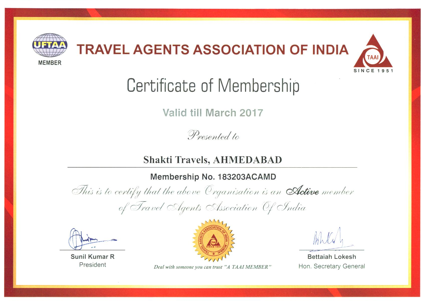 Travel Agents Association of India
